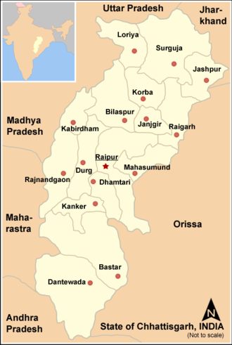 Chhattisgarh District Wise Results